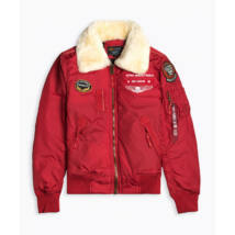Alpha Industries Injector III Air Force speed red