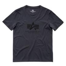 Basic T - greyblack/fekete