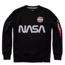 NASA Reflective pulóver - fekete