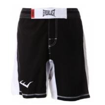 MMA short - fekete/fehér