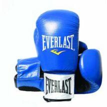 Fighter kesztyű - bőr, kék