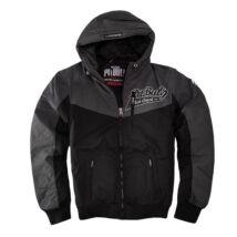 Cargo kabát - fekete/szürke