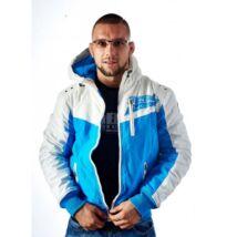 Cargo kabát - kék/fehér