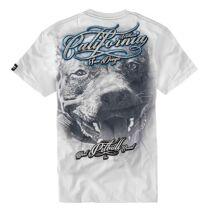 California Dog póló - fehér