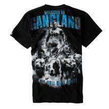 Welcome To Gangland póló - fekete