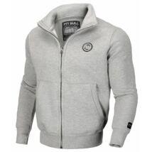 Small Logo pulóver - cipzáras, galléros - szürke