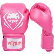 Contender műbőr bokszkesztyű - rózsaszín