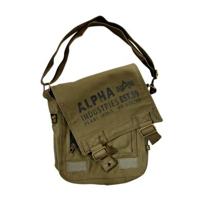 Alpha Industries Cargo Canvas Utility táska -olive