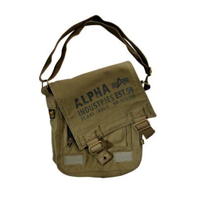 Alpha Industries Cargo Canvas Utility táska -olive