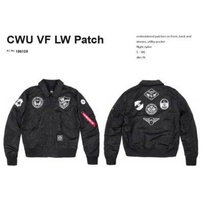 Alpha Industries CWU VF LW Patch