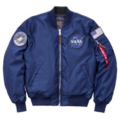 MA-1 VF NASA RP - ocean blue