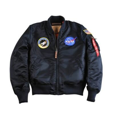 Alpha Industries MA-1 VF NASA - replica blue