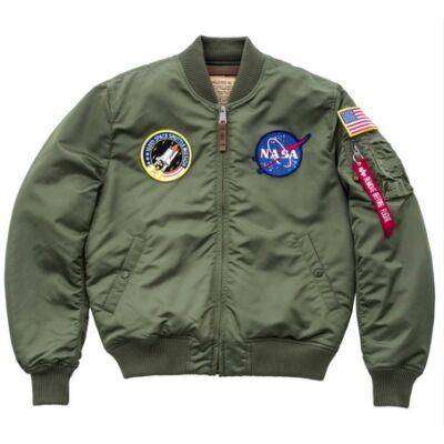 Alpha Industries MA-1 VF NASA - sage green