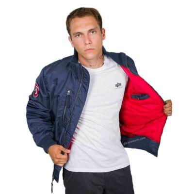 Alpha Industries RBF jacket -new navy
