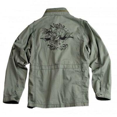 Skull Jacket - olive