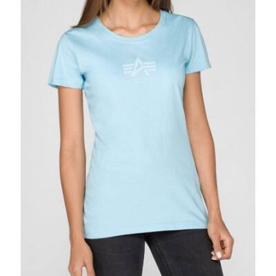 Basic T Wmn - air blue