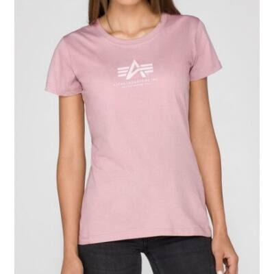 Basic T Wmn - silver pink
