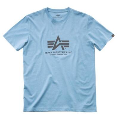 Basic T - air blue