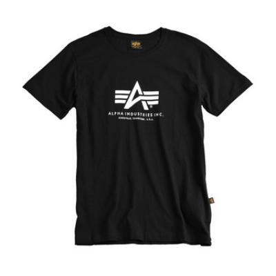 Alpha Industries Basic póló - fekete