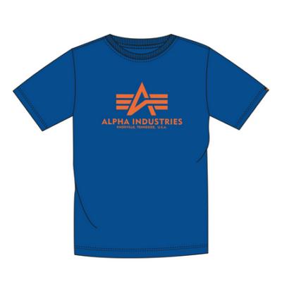 Alpha Industries Basic póló - lapis blue