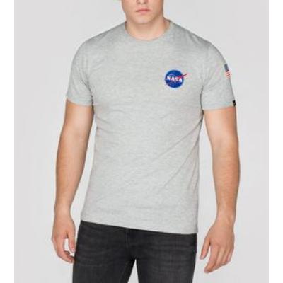 Alpha Industries Space Shuttle póló - szürke
