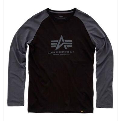 Basic LS - fekete/greyblack