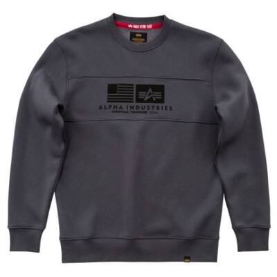Inlay Sweater - greyblack