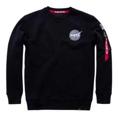 Space Shuttle Sweater - fekete