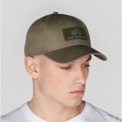 Velcro Cap - dark green