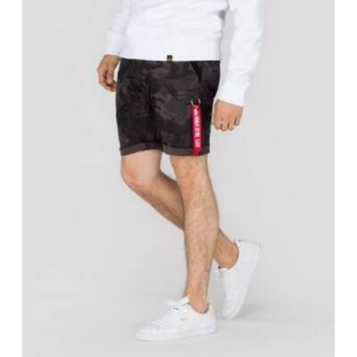 Alpha Industries Kerosine short - black camo