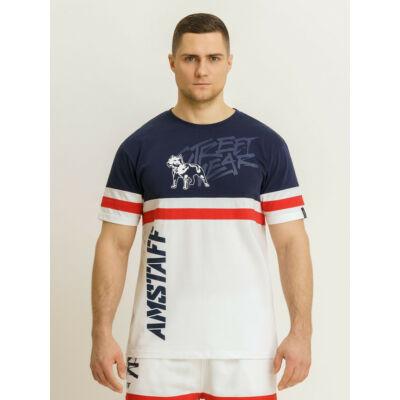 Forset kék-fehér póló