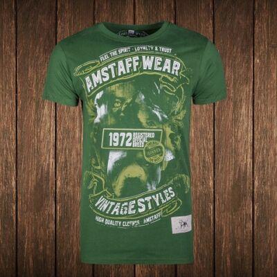 Vintage Isanto póló - zöld