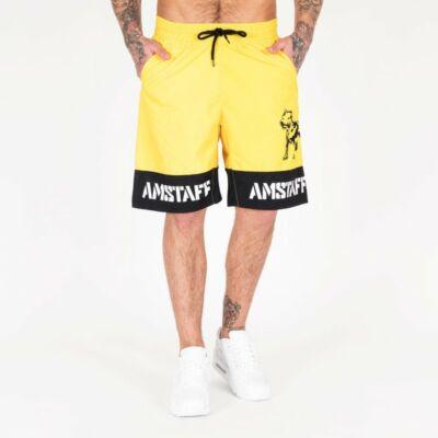 Amstaff Tison férfi úszóshort - sárga