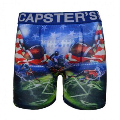 Capster's amerikai focis boxeralsó - színes