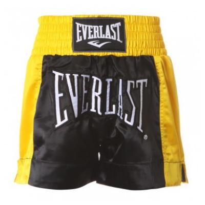 Everlast thai short - fekete/arany
