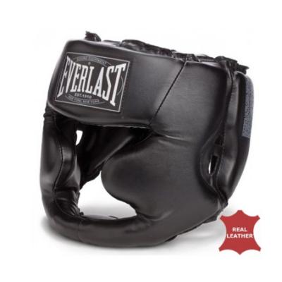 Everlast fejvédő - bőr, arcvédős és állvédős