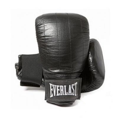 """Everlast """"Boston"""" zsákolókesztyű bőr - fekete"""
