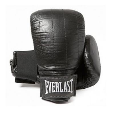"""Everlast """"Boston"""" zsákolókesztyű műbőr - fekete"""
