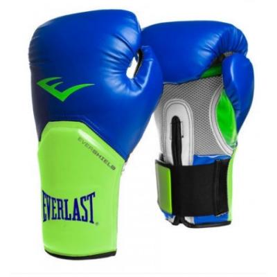 """Everlast """"Pro Style Elite"""" kesztyű - kék/zöld"""