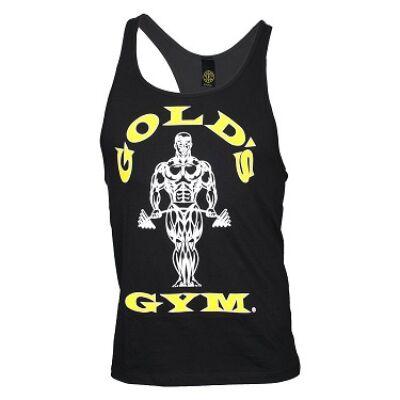 Gold's Gym edzőtrikó - fekete