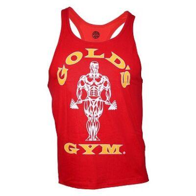 Gold's Gym edzőtrikó - piros