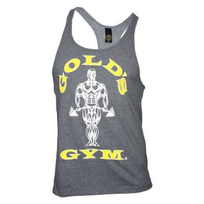 Gold's Gym edzőtrikó - világosszürke