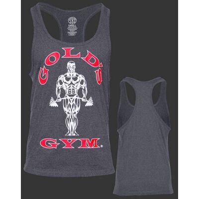 Gold's Gym edzőtrikó - sötétszürke
