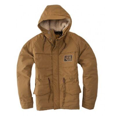 Pitbull West Coast Gunner kabát - barna