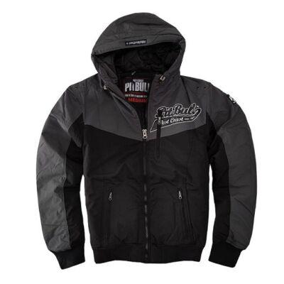Pitbull West Coast Cargo kabát - fekete/szürke