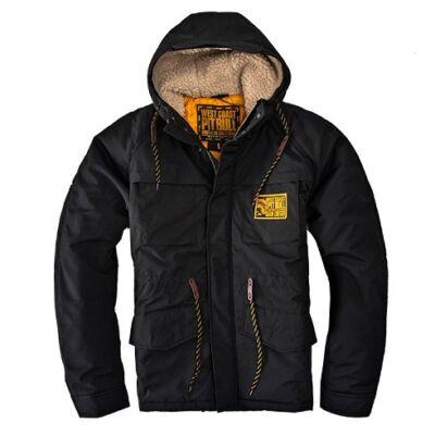 Pitbull West Coast Gunner kabát - fekete