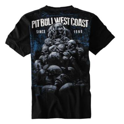 Pitbull West Coast Skull Dog póló