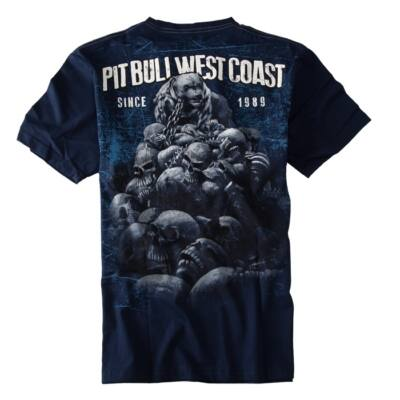 Pitbull West Coast Skull Dog póló