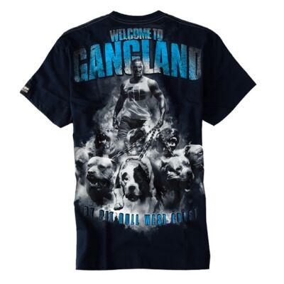 Pitbull West Coast Welcome to Gangland póló