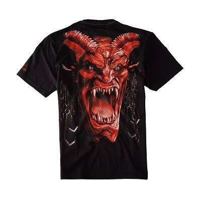 Pitbull West Coast Terror Devil póló